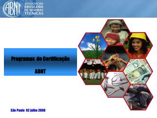 Programas  de Certificação ABNT