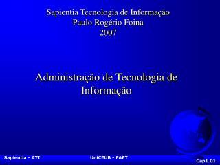 Administra��o de Tecnologia de Informa��o