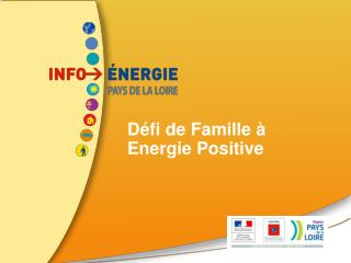 Défi de Famille à Energie Positive