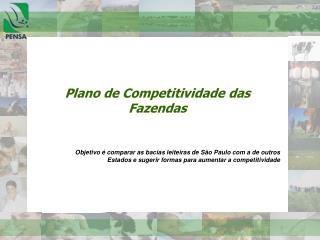 Plano de Competitividade das Fazendas