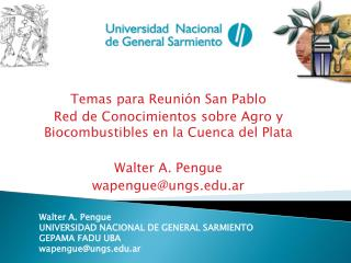 Temas para Reunión San Pablo