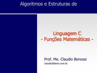 Algoritmos e Estruturas de