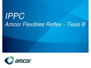 IPPC  Amcor Flexibles Reflex -  Tesis  B