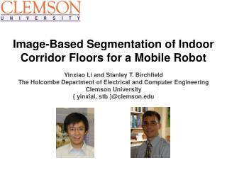 Image-Based Segmentation of Indoor Corridor Floors for a Mobile Robot