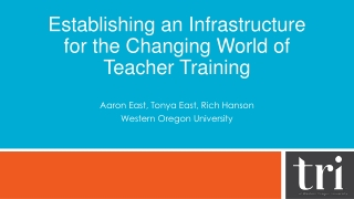 Regional Training Workshops Phase 4 Licensing Amendments