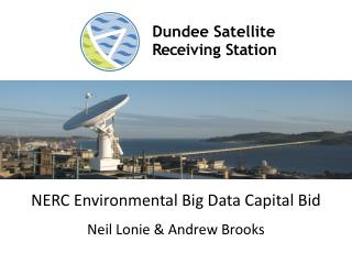 NERC Environmental Big Data Capital Bid