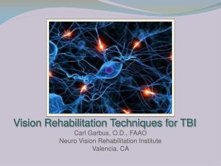Vision Rehabilitation Techniques for TBI