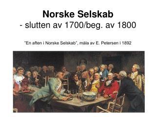 Norske Selskab