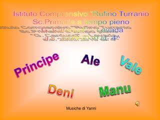 Istituto Comprensivo  Rufino Turranio Sc.Primaria a tempo pieno  G. Carducci    Levada  a.s. 2009