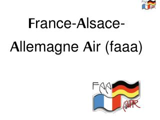 F rance- A lsace- A llemagne  A ir (faaa)