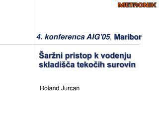 4. konferenca AIG'05 ,  Maribor