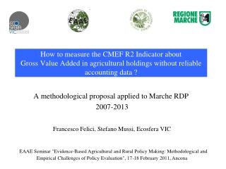 A�methodological�proposal�applied�to�Marche�RDP� 2007-2013