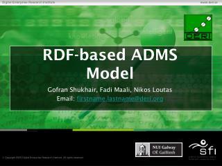 RDF-based ADMS Model