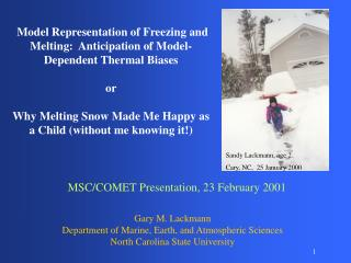 Model Representation of Freezing and Melting:  Anticipation of Model-Dependent Thermal Biases or
