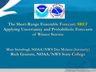 The Short-Range Ensemble Forecast:  SREF