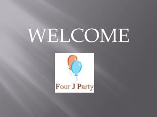 Hire Four J Party for party rentals in Broward FL
