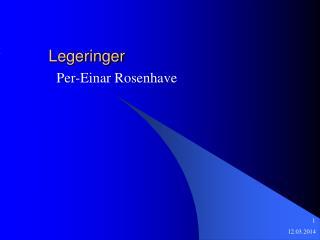 Legeringer