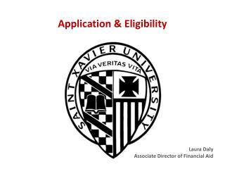 Application & Eligibility