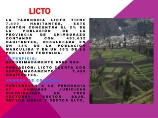 licto