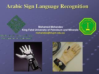 Arabic Sign Language Recognition