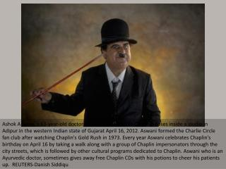 Charlie Chaplin in India