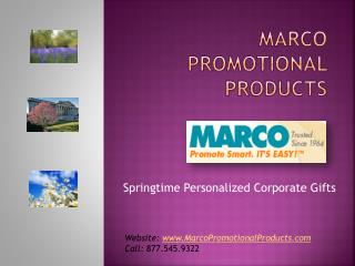 MARCO Promotional Products | Springtime Corporate Gifts