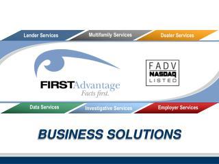 Lender Services