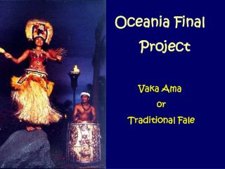 Oceania Final        Project