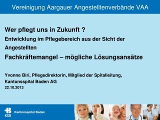 Vereinigung Aargauer Angestelltenverbände VAA