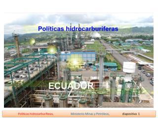 1.- Generación de energía RESERVAS DE CRUDO DISPONIBLES