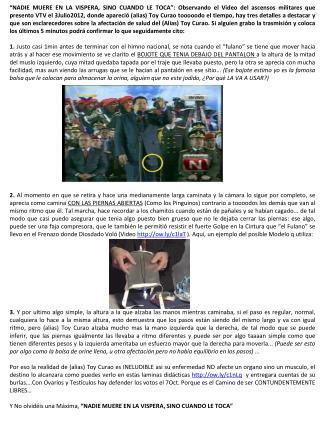 EL BOJOTE DE Toy Curao en Ascensos Militares 3Julio2012 H4x