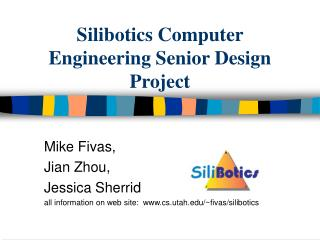 Silibotics Computer Engineering Senior Design Project
