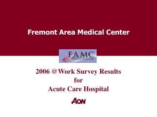 Fremont Area Medical Center