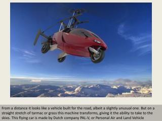PAL-V flying car makes debut flight