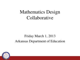 Mathematics Design Collaborative