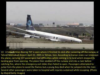 Most unusual aircraft landings