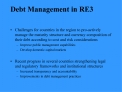 Debt Management in RE3