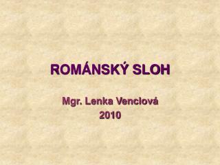 ROM�NSK� SLOH