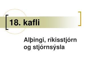 18. kafli