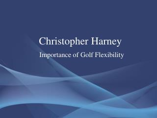 Christopher Harney
