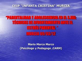 CEIP �INFANTA CRISTINA� MURCIA