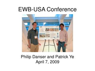 EWB-USA Conference