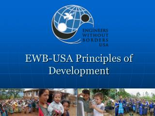 EWB-USA Principles of Development