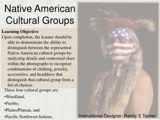 Native American Cultural Groups