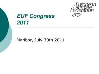 EUF Congress  2011