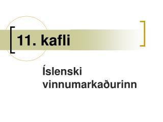11. kafli