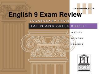 English 9 Exam Review