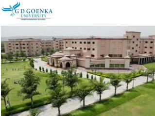 Best MBA Colleges in Delhi � GD Goenka University