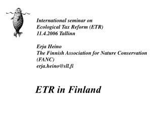 ETR in Finland