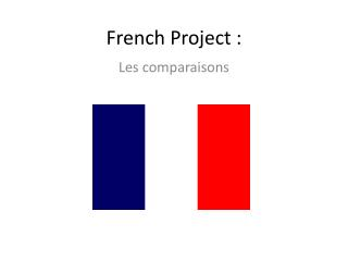 French Project :